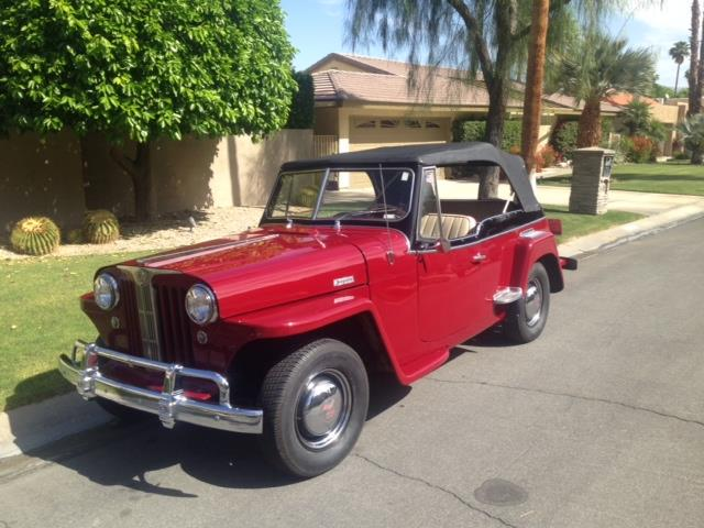 Picture of '49 Willys Jeepster located in Palm Springs California - OPWT