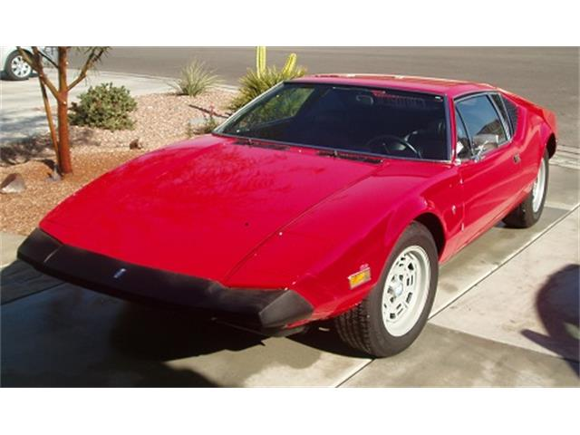 Picture of Classic 1973 De Tomaso Pantera located in California Auction Vehicle - OPWX