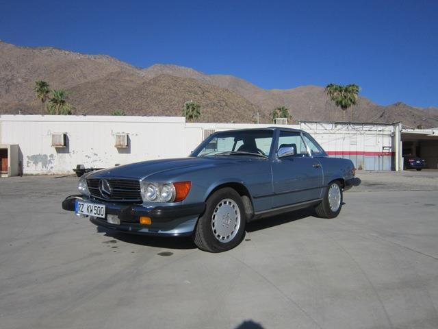 1989 MERCEDES BENZ 560 SL RDSTR