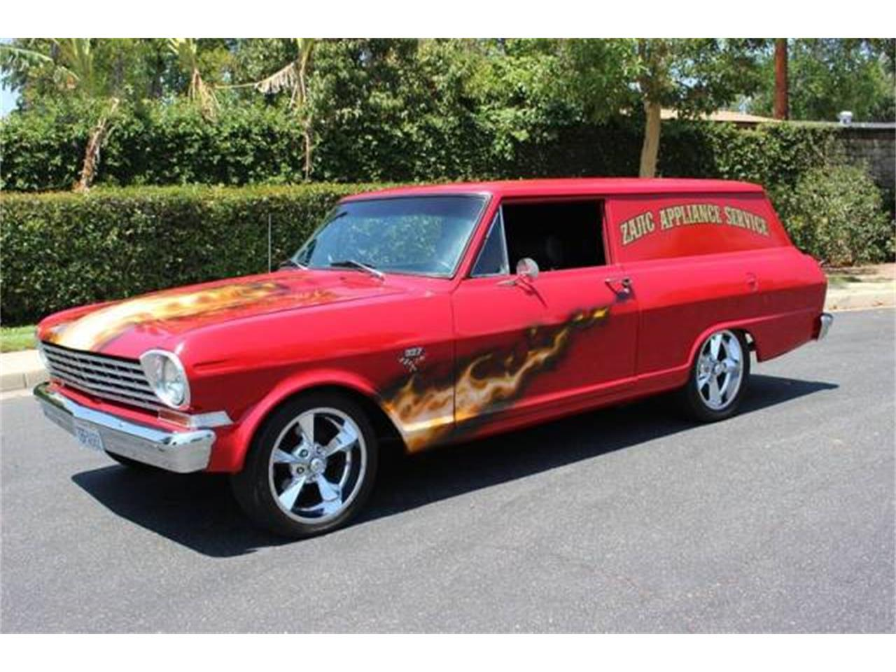 Large Picture of '64 Nova II located in Palm Springs California Auction Vehicle Offered by McCormick's Collector Car Auctions - OPYF