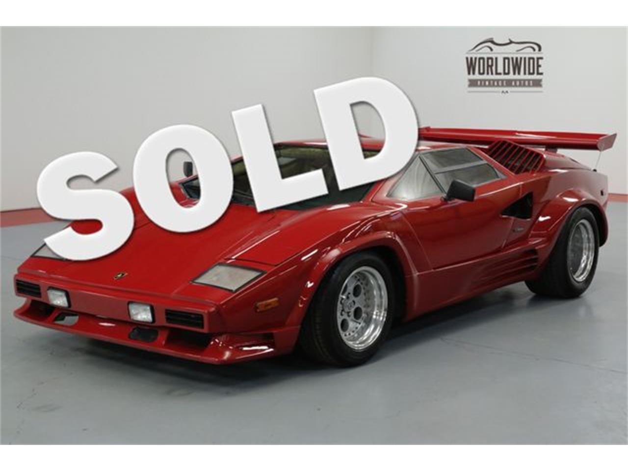 1989 lamborghini countach for sale | classiccars | cc-1153583