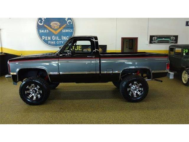 Picture of 1987 Chevrolet K-10 located in Iowa Offered by  - OQ8U