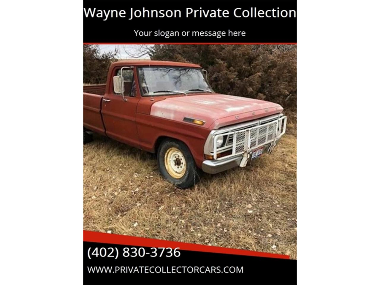 Large Picture of '71 F250 - OQ97