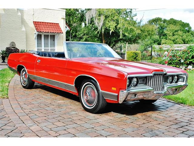 classic ford ltd for sale on classiccars com1970 Ford Ltd Convertible #13