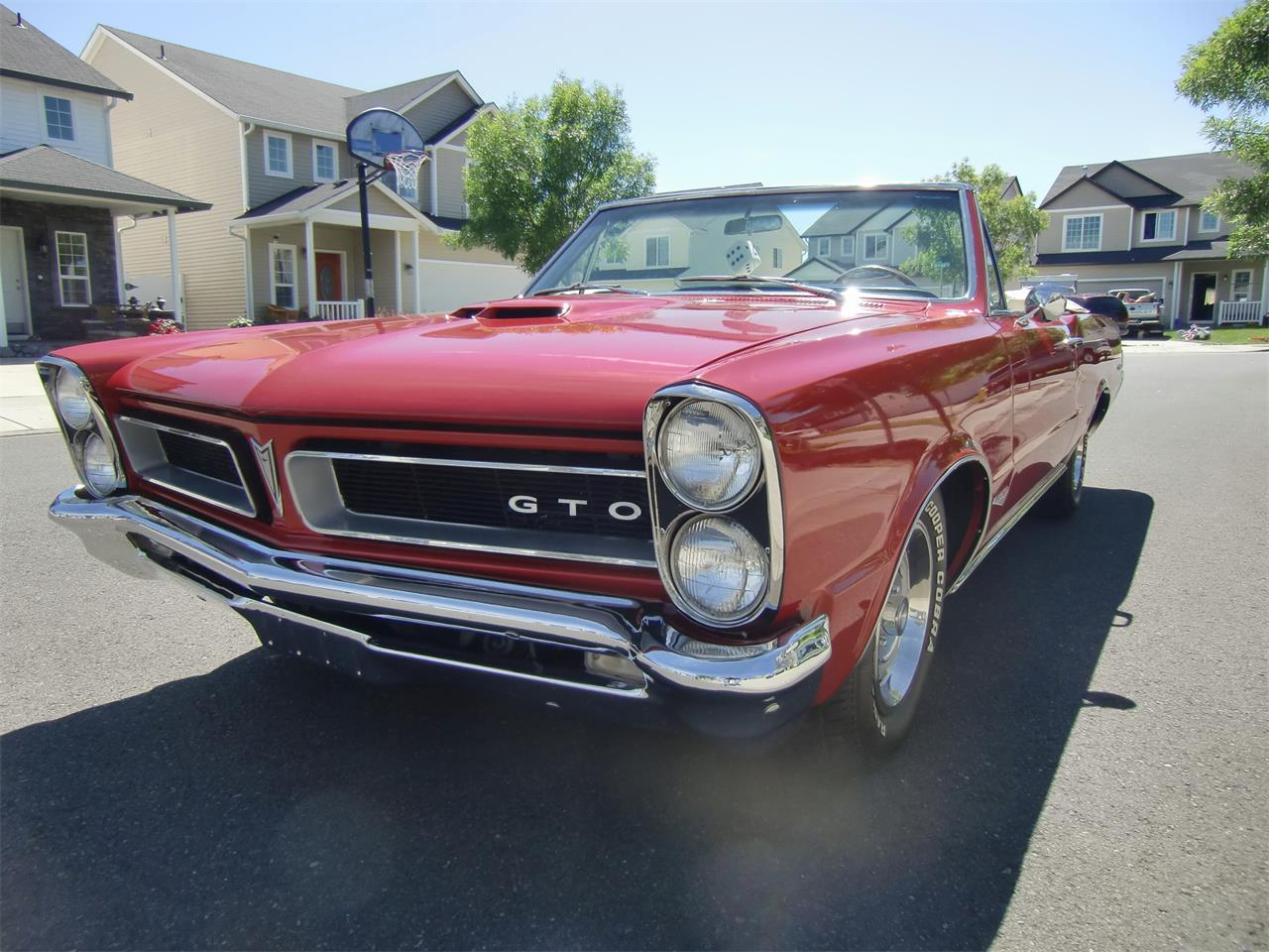 Large Picture of Classic '65 Pontiac GTO located in Portland Oregon - OQVM