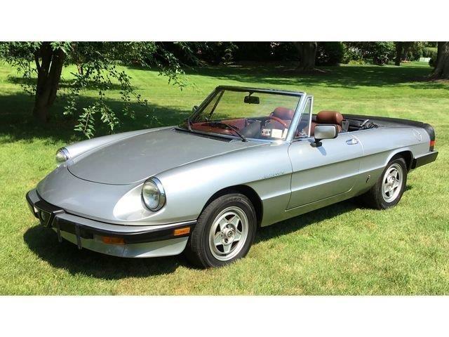 Classic Alfa Romeo For Sale On ClassicCarscom - Alfa romeo convertible for sale