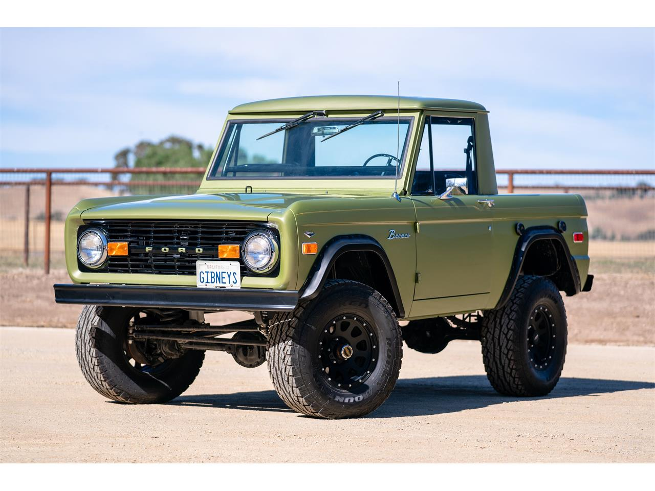 1970 ford bronco for sale cc 1155025. Black Bedroom Furniture Sets. Home Design Ideas