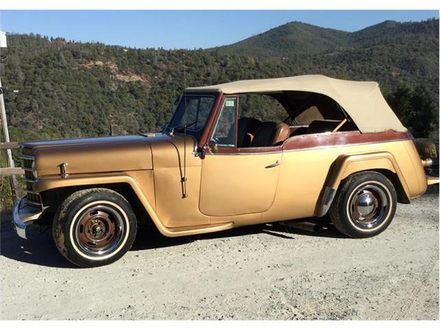 Picture of Classic 1950 Willys Jeepster located in California - $15,500.00 - OR86