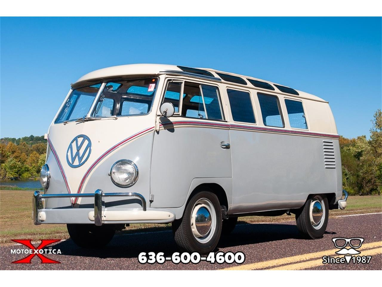 Large Picture of Classic '59 Volkswagen 19-Window Bus Offered by MotoeXotica Classic Cars - ORNF