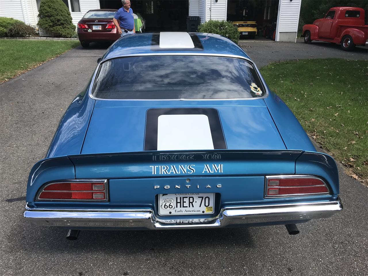 Large Picture of Classic 1970 Firebird Trans Am located in Connecticut - $50,000.00 Offered by a Private Seller - ONU7