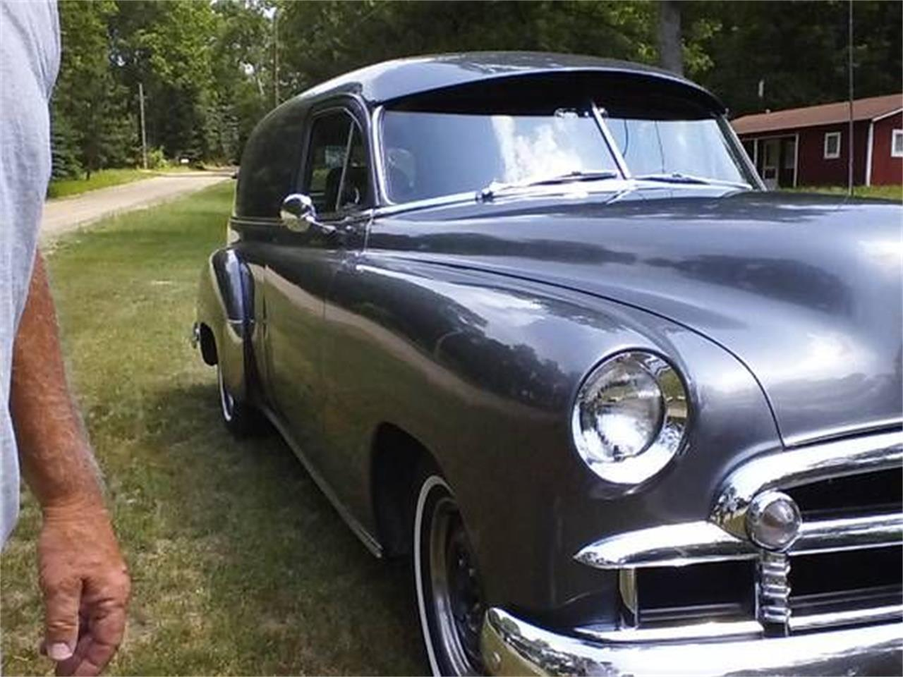 For Sale: 1950 Chevrolet Sedan Delivery in Cadillac, Michigan