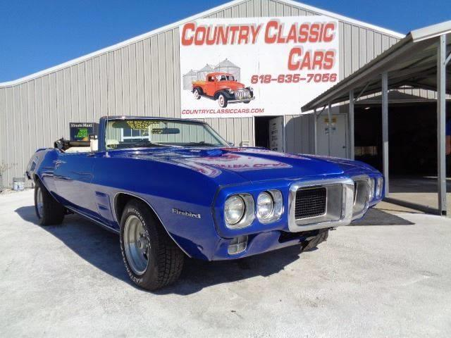 Picture of Classic 1969 Firebird - ONX1
