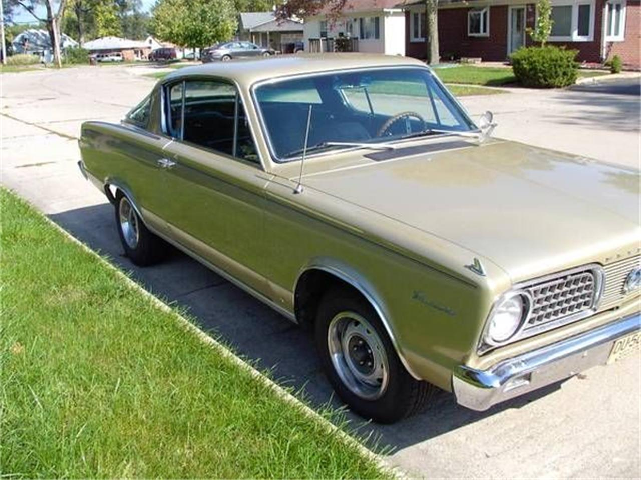 For Sale: 1966 Plymouth Barracuda in Cadillac, Michigan