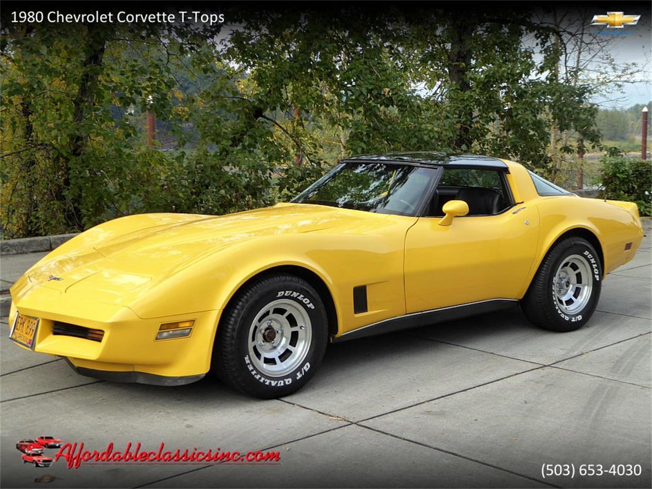 1980 Corvette For Sale >> 1980 Chevrolet Corvette For Sale Classiccars Com Cc 1157842