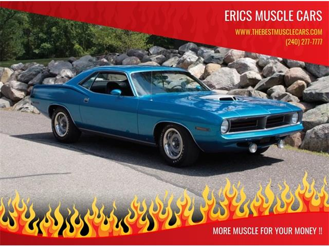 Picture of Classic 1970 Cuda located in Maryland - $84,900.00 Offered by  - ONYC