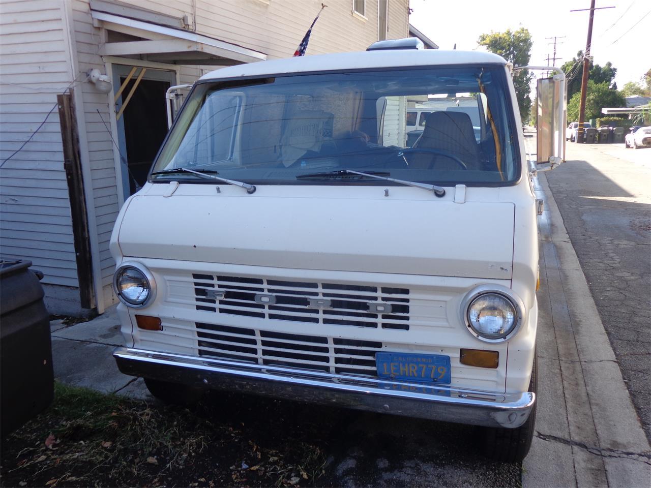For Sale: 1971 Ford Econoline in Monrovia, California