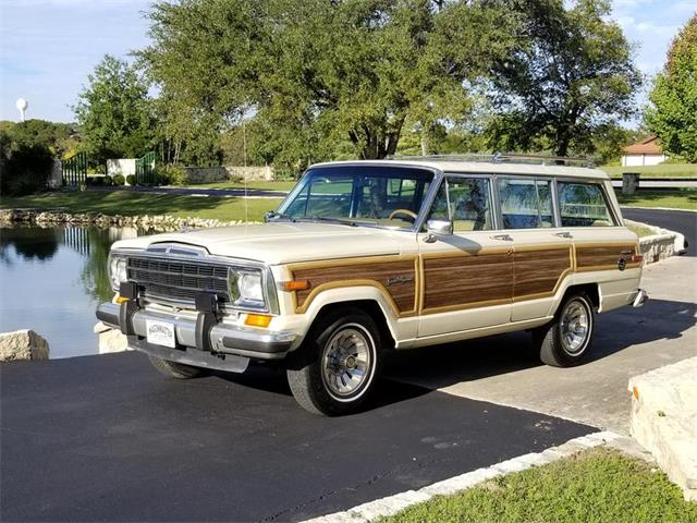 Picture of '87 Jeep Grand Wagoneer located in Kerrvile Texas - OTJS