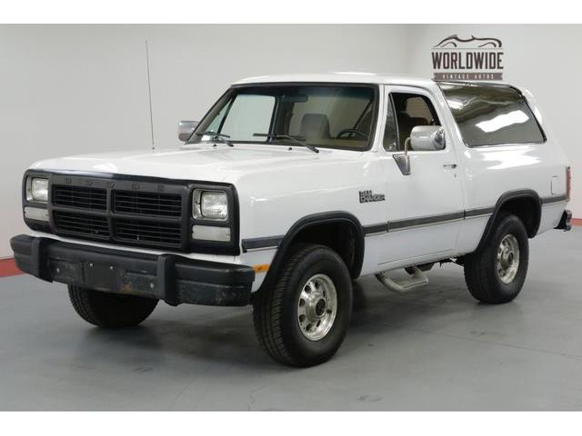 Picture of '92 Ramcharger - OTKB