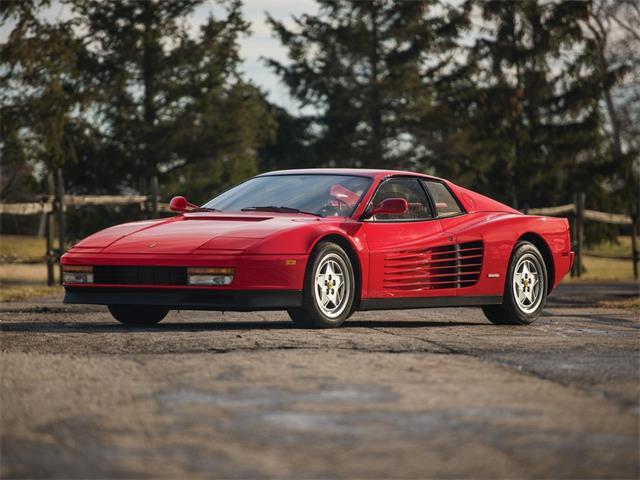 Classic Ferrari Testarossa For Sale On Classiccars