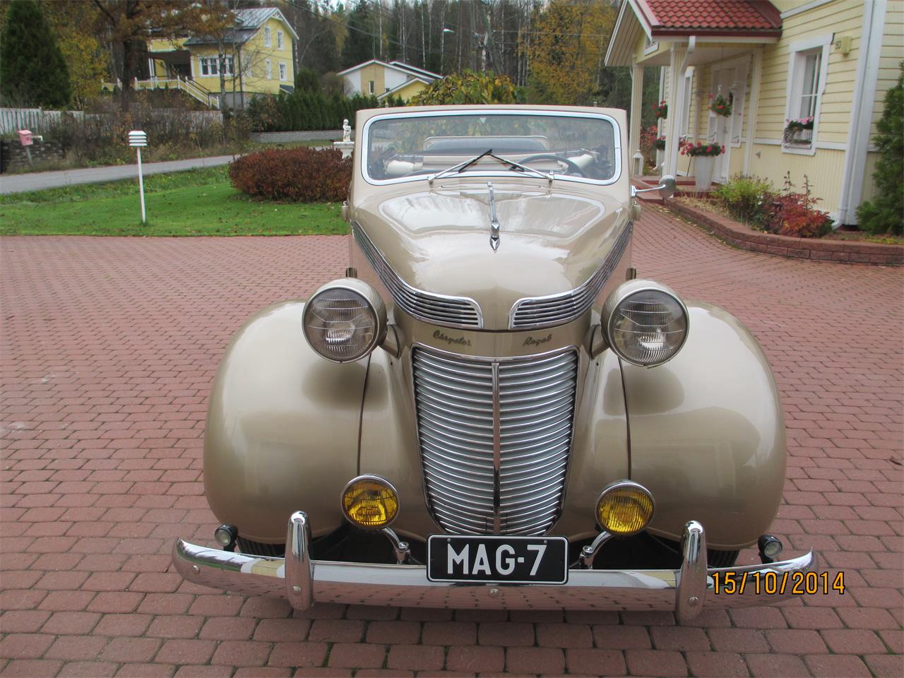 Large Picture of 1937 Chrysler Royal located in Helsinki Vantaa - $79,000.00 - OTNV