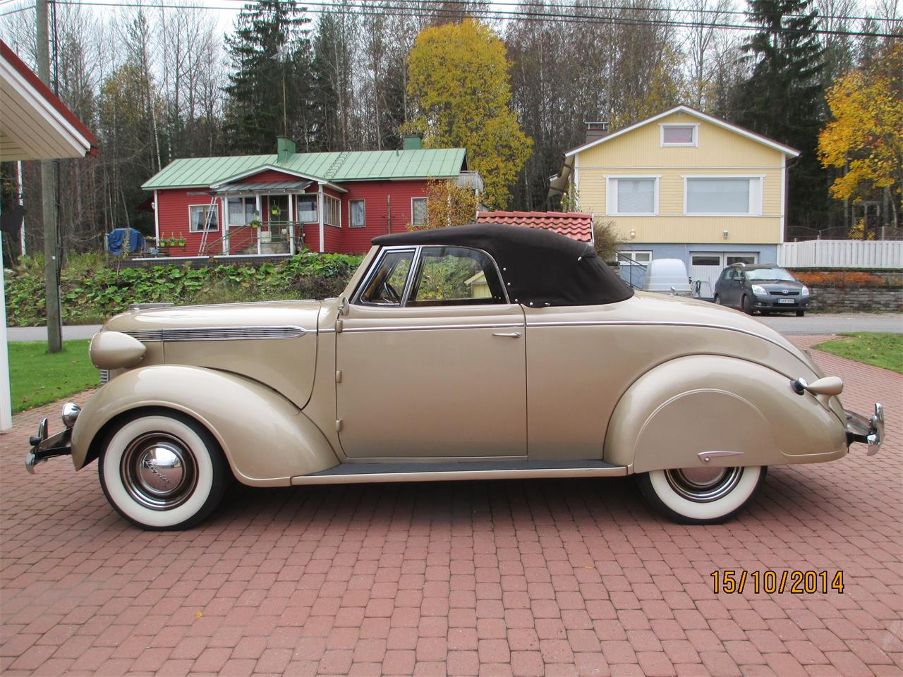 Large Picture of '37 Chrysler Royal - $79,000.00 Offered by a Private Seller - OTNV