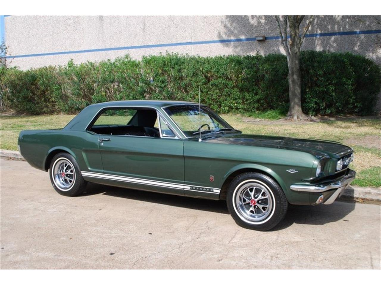 Large Picture of '66 Mustang - OTOO