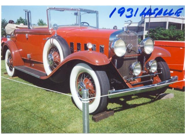 Picture of '31 Convertible Sedan - OO10
