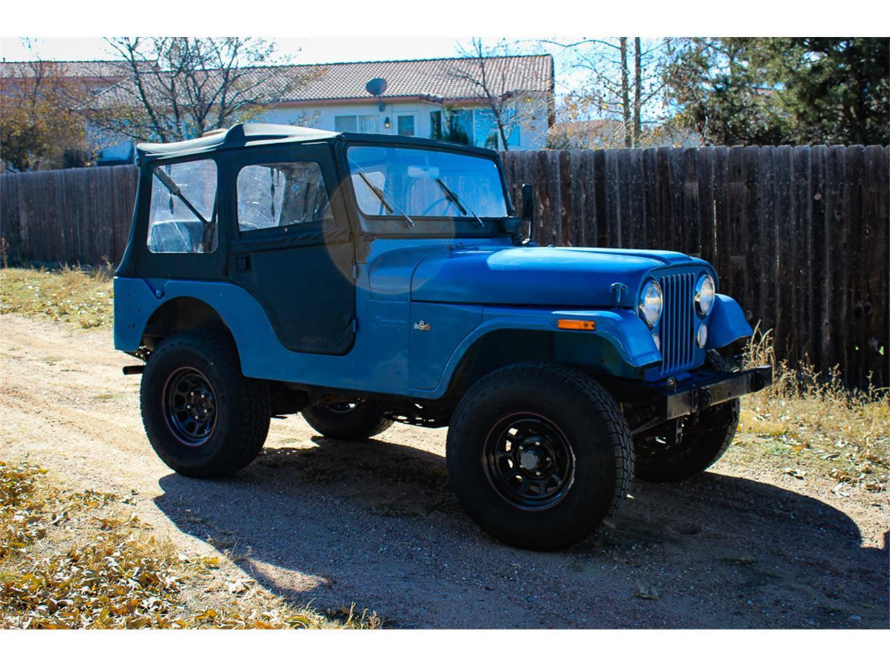 1972 jeep cj5 for sale cc 1159031. Black Bedroom Furniture Sets. Home Design Ideas