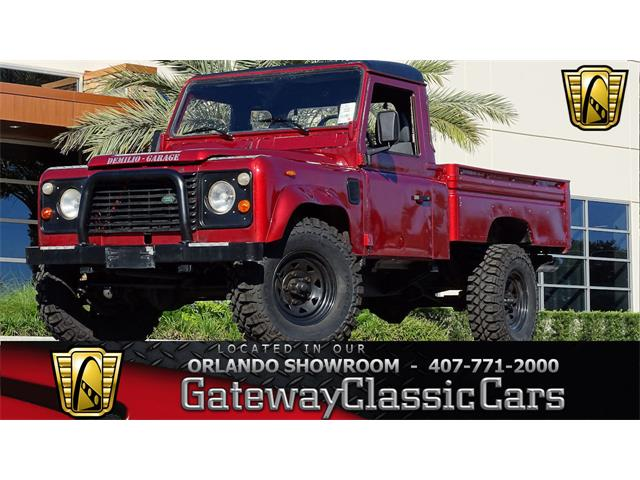 1987 Land Rover Defender