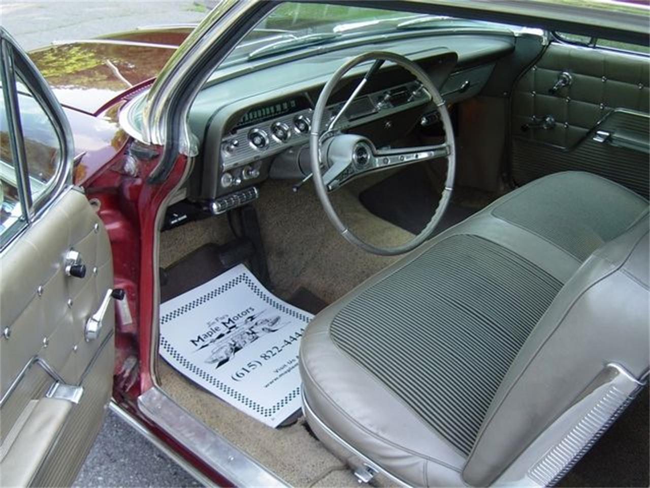 Large Picture of 1962 Chevrolet Impala located in Hendersonville Tennessee - $23,900.00 Offered by Maple Motors - OULV
