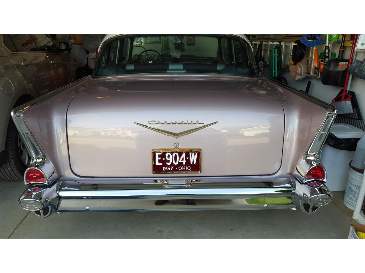 Large Picture of 1957 Chevrolet Bel Air located in Elyria Ohio - OUNI