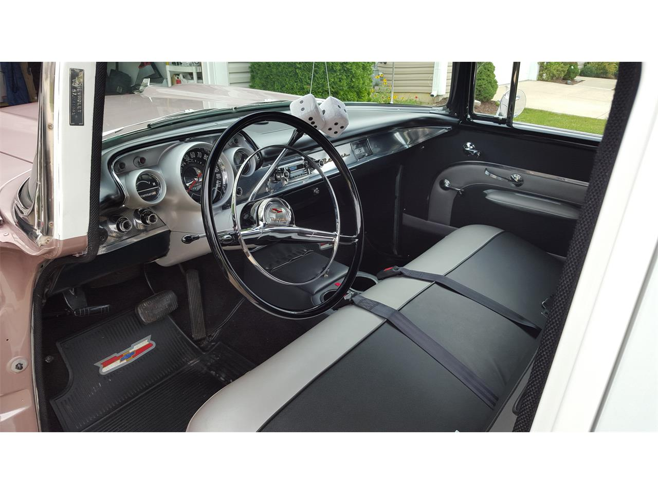 Large Picture of Classic '57 Chevrolet Bel Air located in Elyria Ohio - $33,900.00 Offered by a Private Seller - OUNI