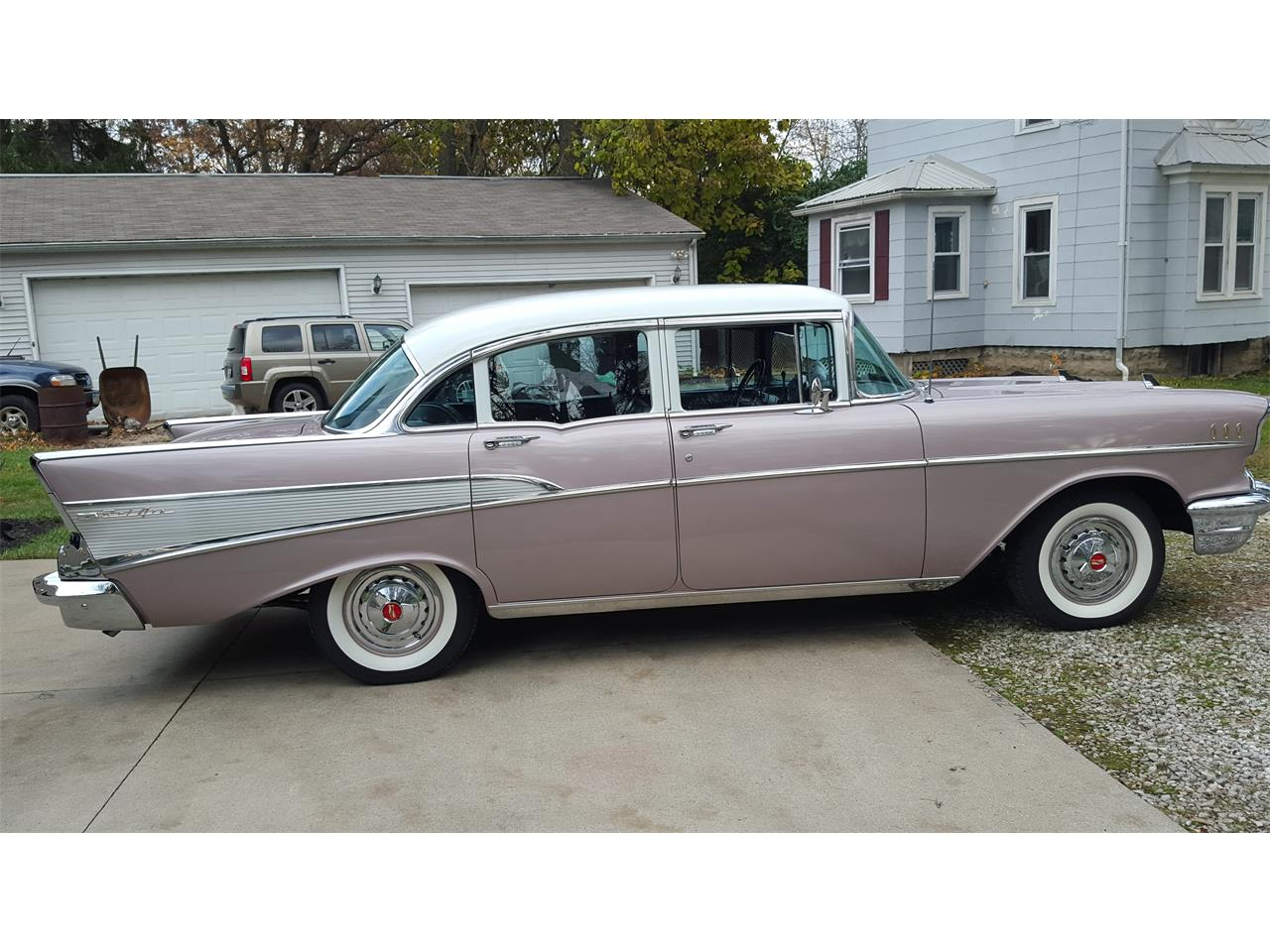Large Picture of Classic '57 Chevrolet Bel Air Offered by a Private Seller - OUNI