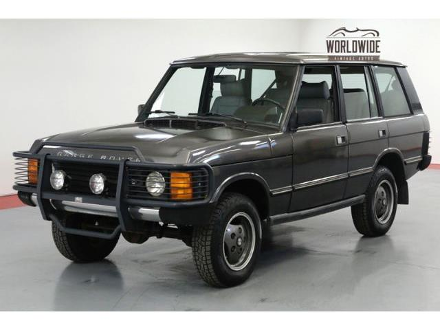 Picture of '90 Range Rover located in Denver  Colorado - $17,900.00 Offered by  - OUOG