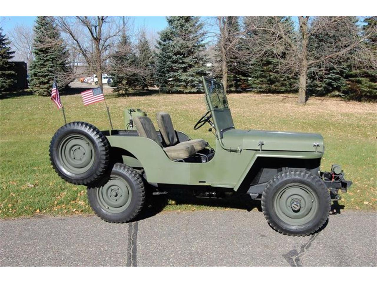 Willys Jeep For Sale >> 1946 Willys Jeep For Sale Classiccars Com Cc 1159901