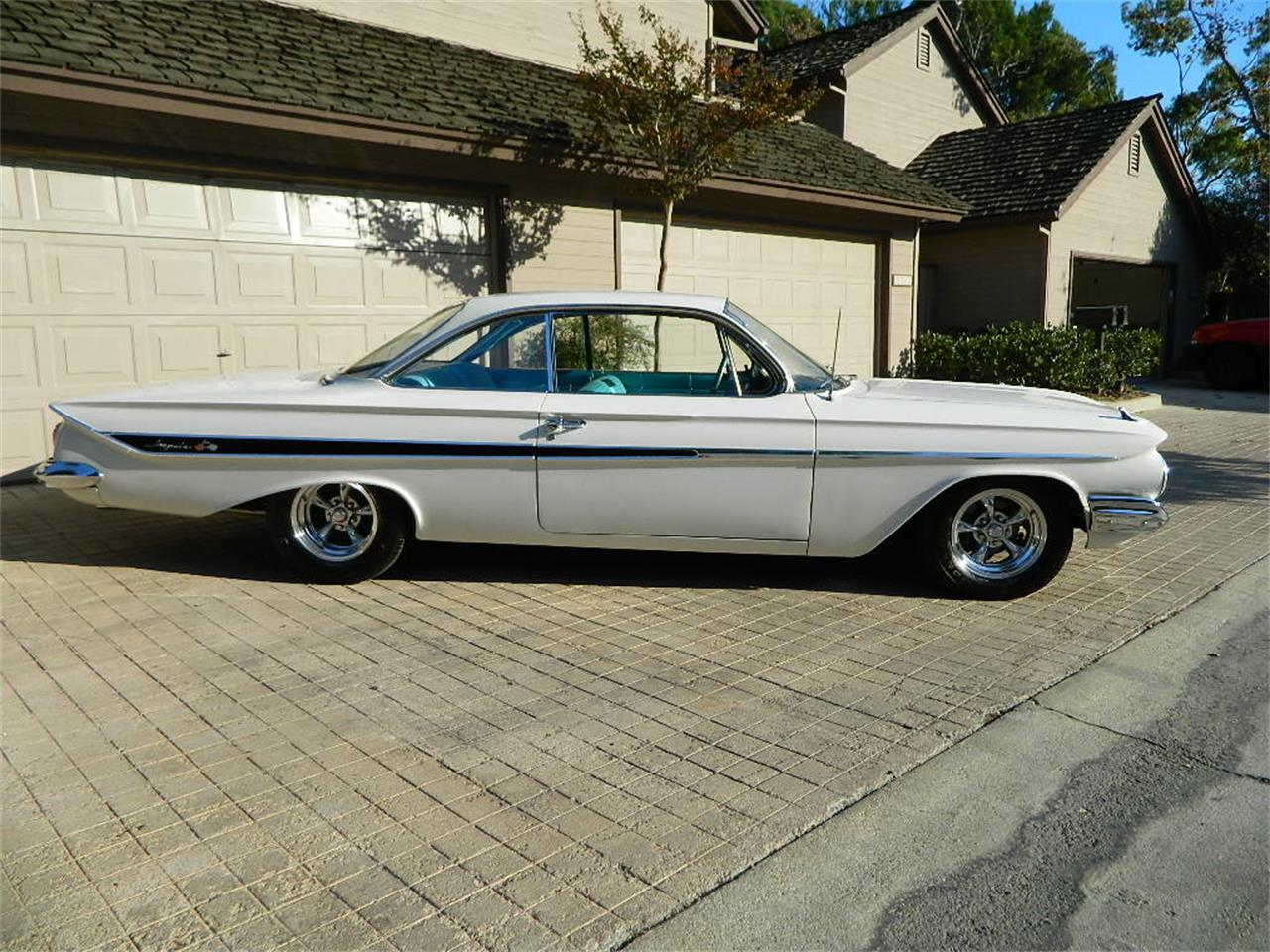 61 chevy impala convertible for sale
