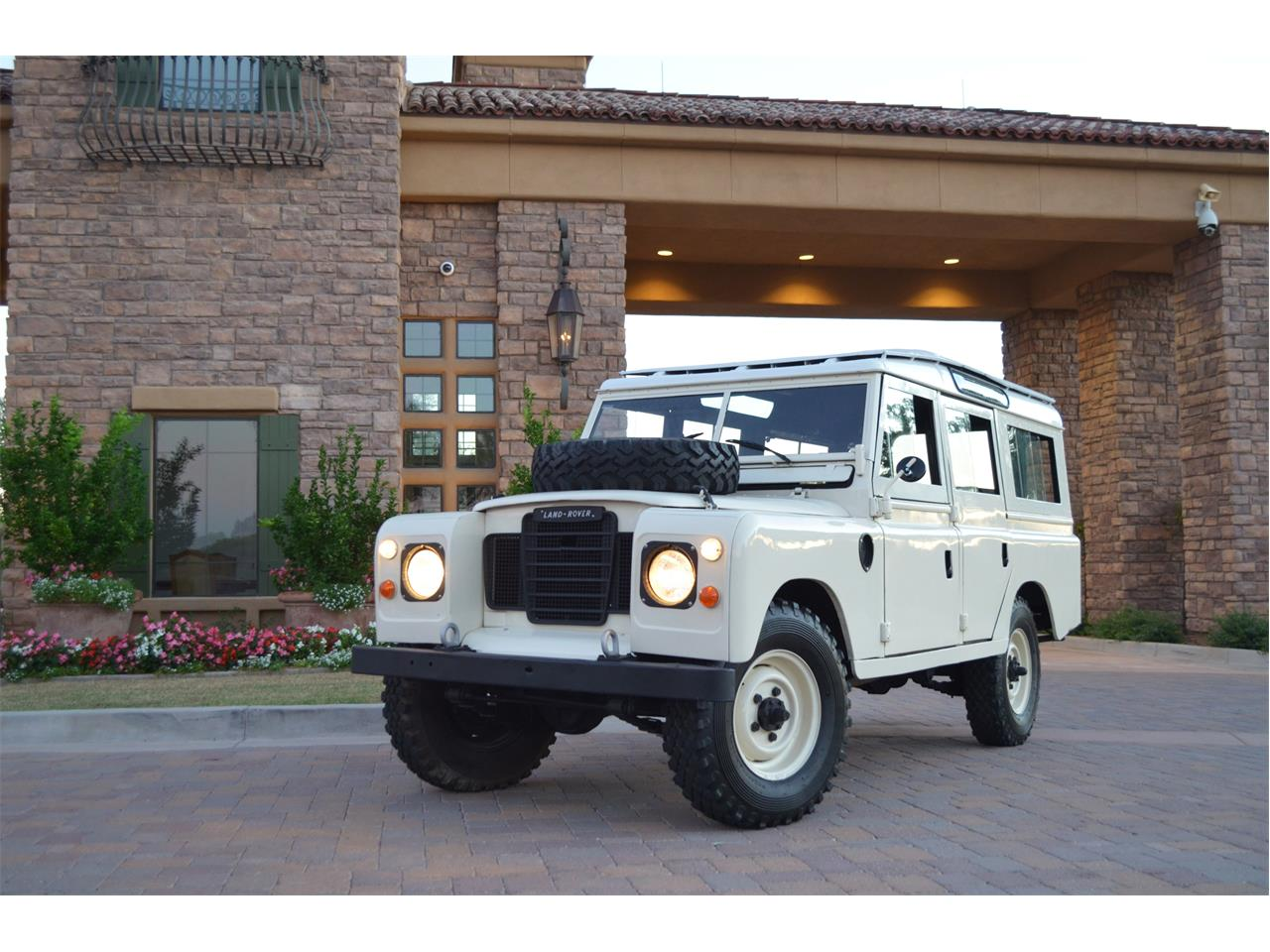 1982 land rover series iia for sale | classiccars | cc-1161271