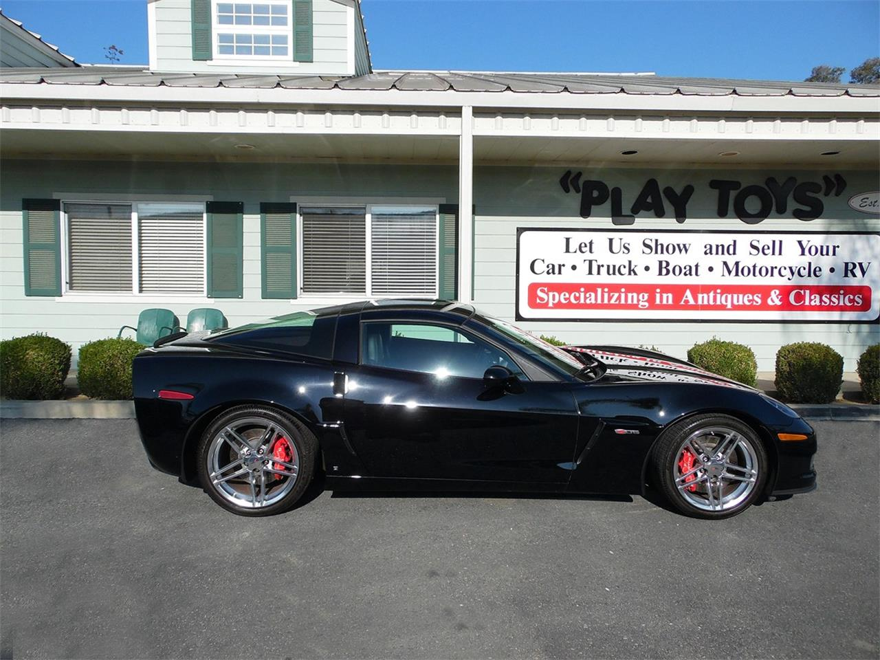 Large Picture of '07 Corvette Z06 - OW1Y