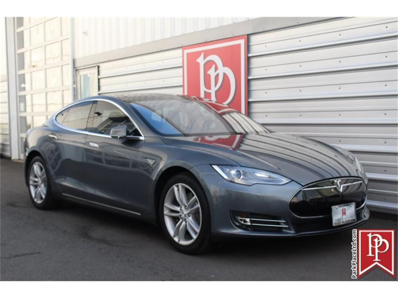 Large Picture of 2014 Tesla Model S located in Bellevue Washington - $37,950.00 Offered by Park Place Ltd - OW52