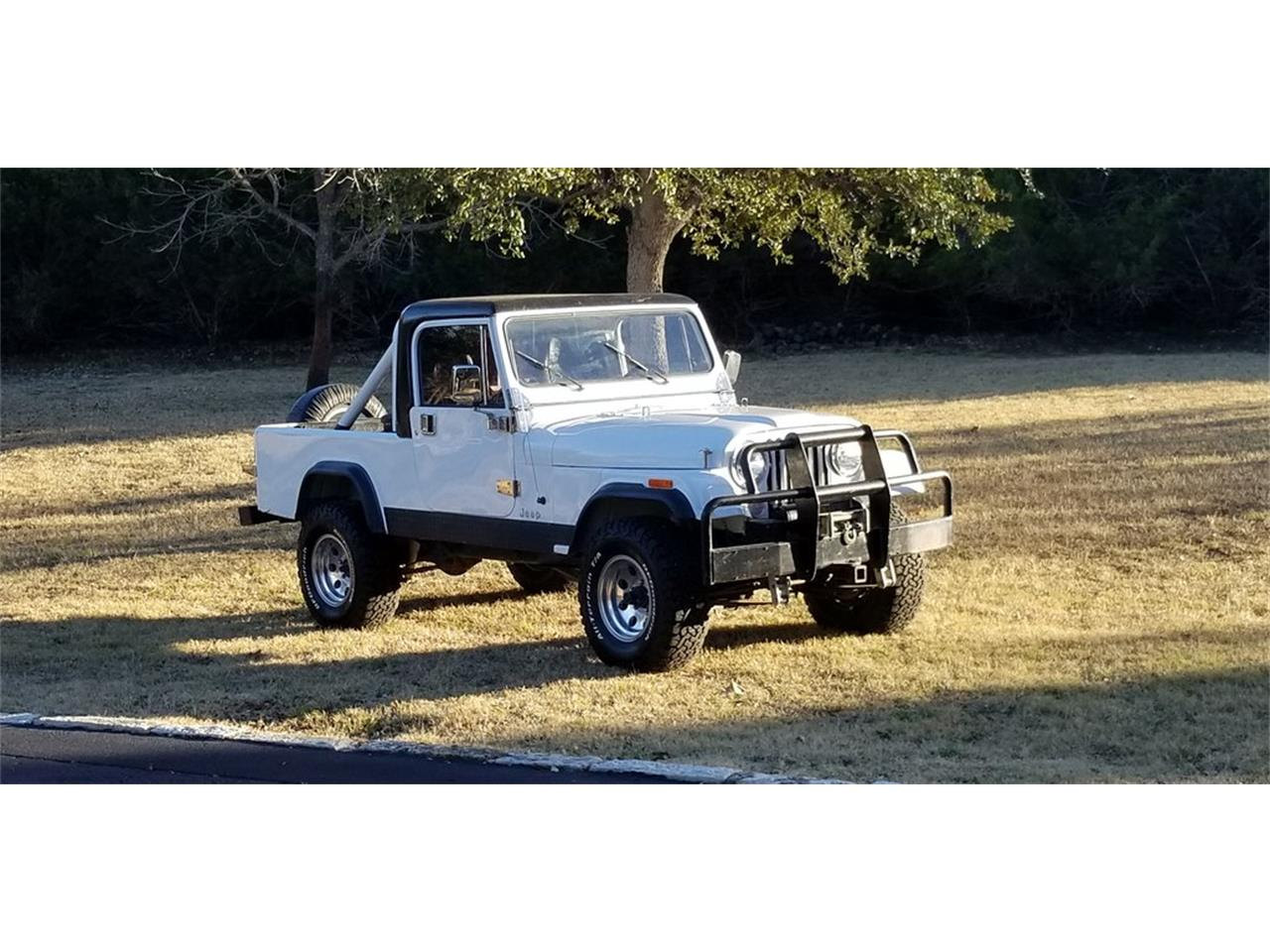 Large Picture of '84 Jeep CJ8 Scrambler located in Kerrville Texas Offered by Wagonmaster - OV68