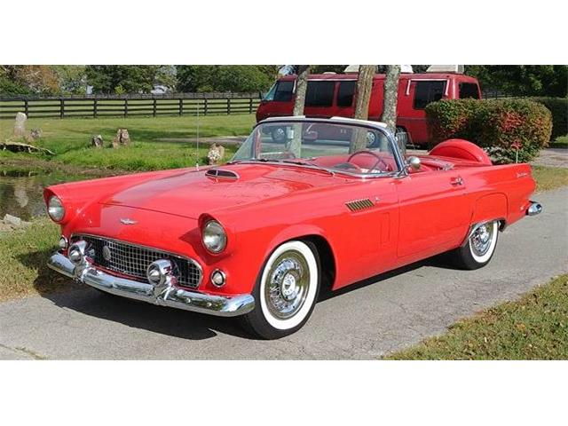 1956 Ford Thunderbird For Sale On Classiccars
