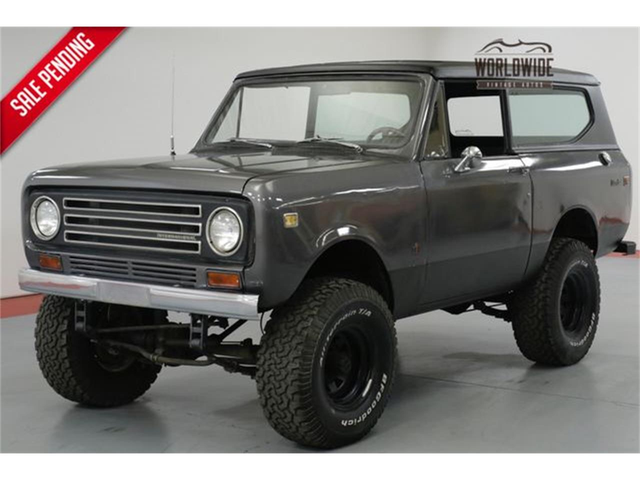 Large Picture Of Classic 1972 Scout Ii Located In Denver Colorado 17900 00 Offered By Worldwide