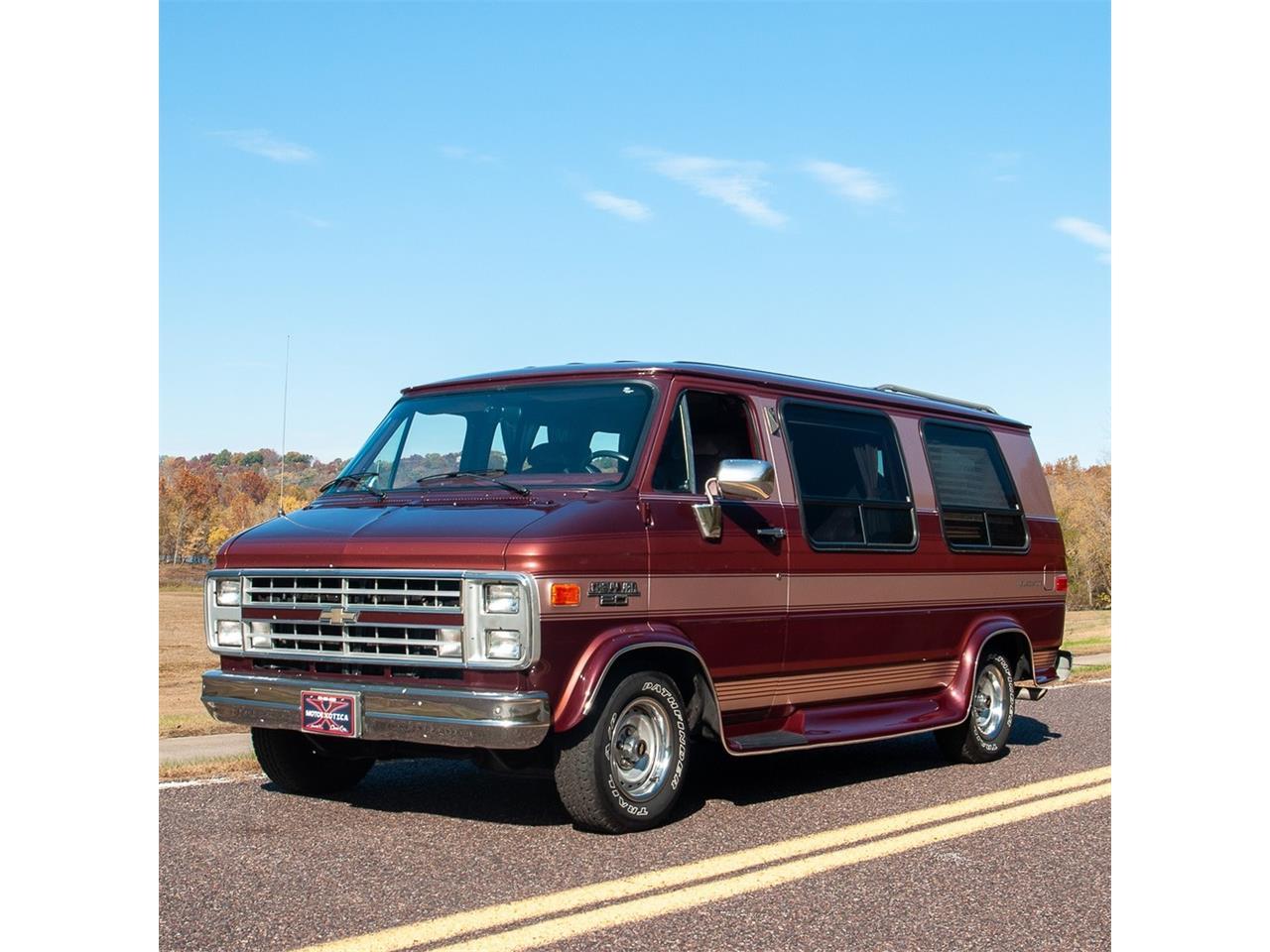 For Sale: 1991 Chevrolet G20 Conversion Van in St  Louis, Missouri