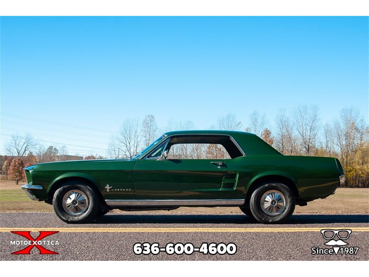 Large Picture of 1967 Ford Mustang Offered by MotoeXotica Classic Cars - OWD0