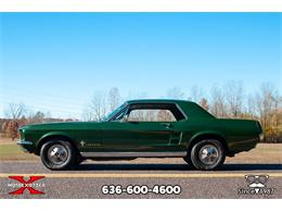 Picture of Classic '67 Ford Mustang located in St. Louis Missouri - $17,900.00 Offered by MotoeXotica Classic Cars - OWD0