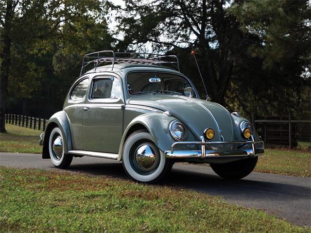 Picture of '59 Beetle Deluxe 'Sunroof' Sedan - OWED