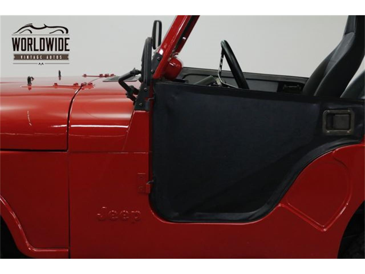 Large Picture of '79 Jeep CJ5 located in Denver  Colorado - OWHF