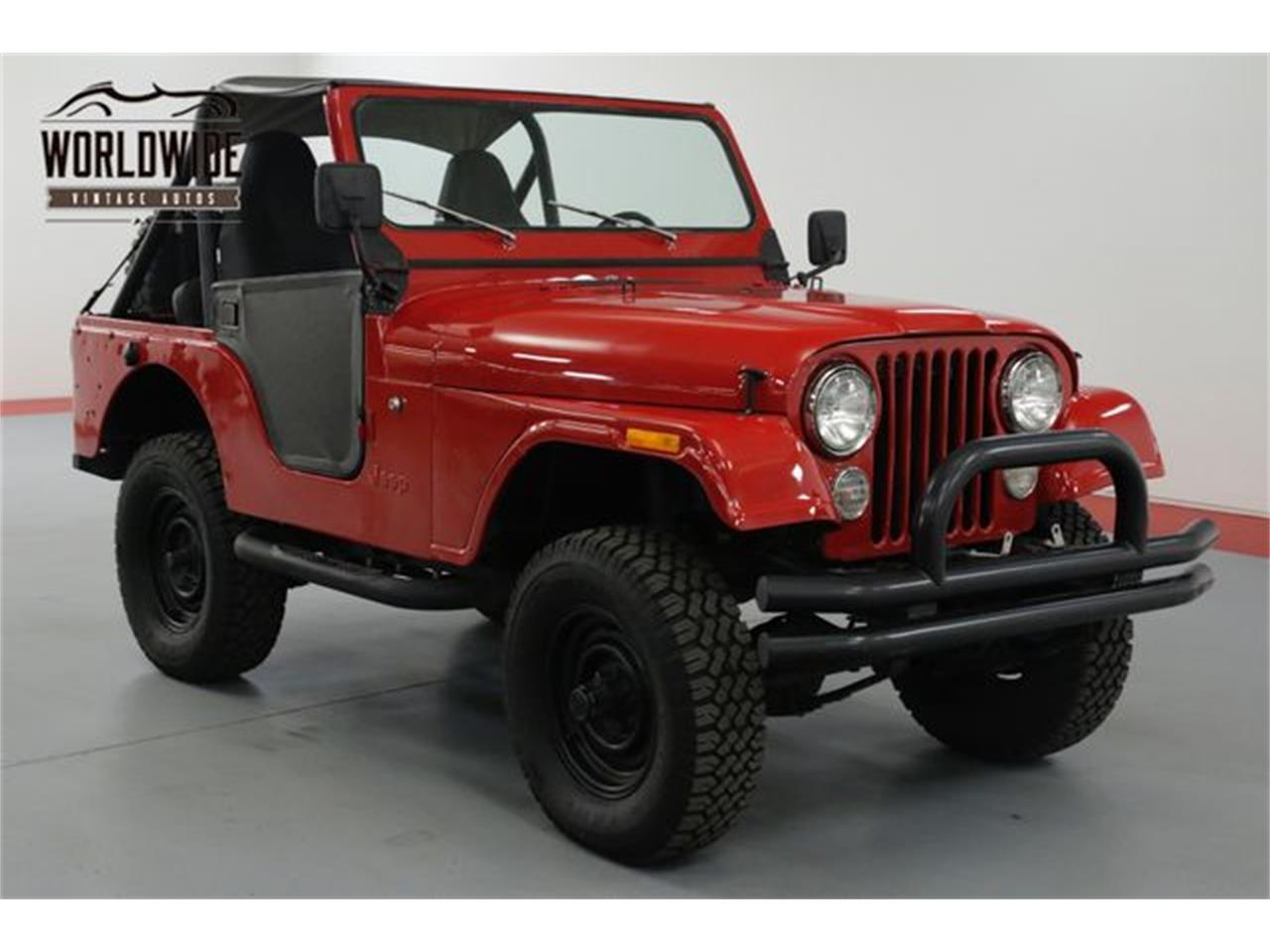 Large Picture of 1979 CJ5 located in Denver  Colorado - OWHF