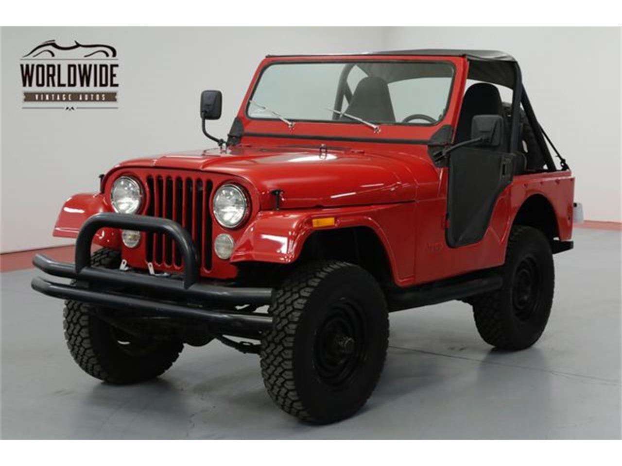 Large Picture of 1979 Jeep CJ5 located in Denver  Colorado Offered by Worldwide Vintage Autos - OWHF