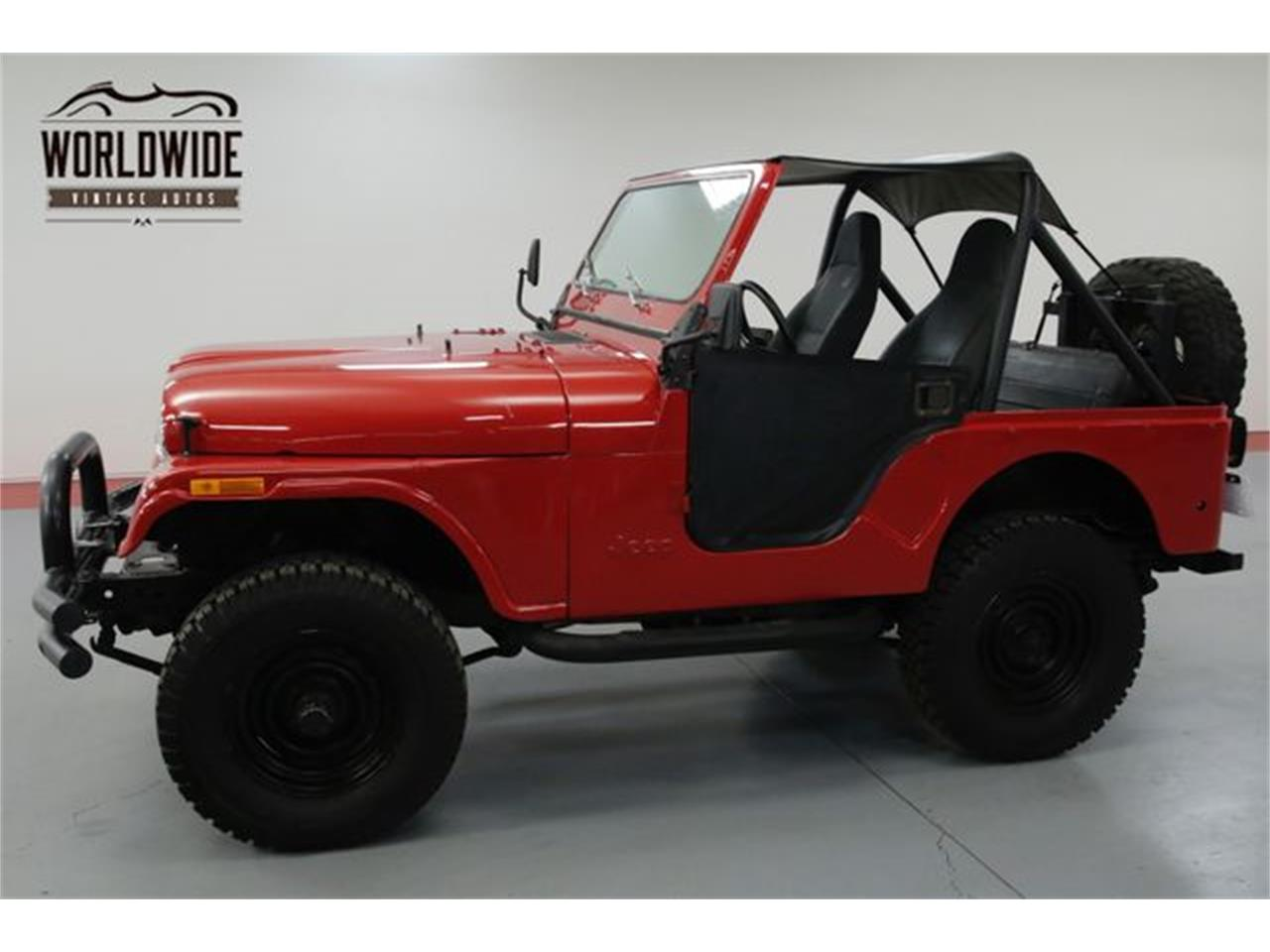 Large Picture of '79 CJ5 located in Denver  Colorado Offered by Worldwide Vintage Autos - OWHF
